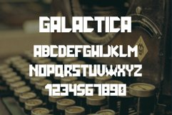 Galactica Space Grid Font Product Image 4