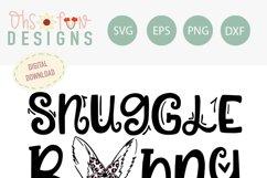 Snuggle bunny   Animal print   SVG Product Image 2