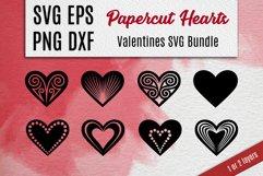 Papercut Hearts| Valentines SVG Bundle Product Image 1