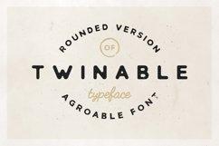 Twinable - Rounded Retro Font Product Image 1