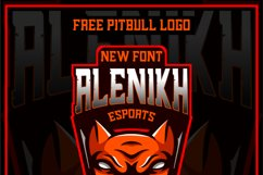 Alenikh Esports Font Logo Product Image 4