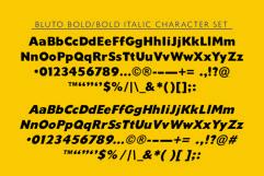 Bluto   Sans Serif Type Family Product Image 5
