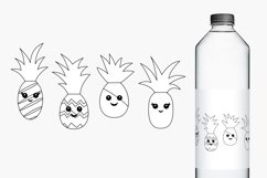 Happy Face Pineapple Illustrations Product Image 2