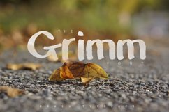 The Grimm Brush Typeface Product Image 1