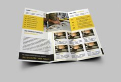 Interior Design Trifold Brochure Product Image 2
