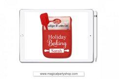 Holiday Baking Christmas Svg Cut File Product Image 1