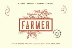 The Farmer Font - Condensed Typeface Product Image 3