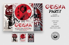 Geisha Party Flyer Bundle V2 Product Image 1