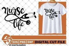 Nurse Life svg, Stethoscope svg, Hero svg, Medical svg Product Image 2