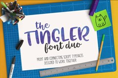 The Tingler - a font duo with stencil style! Product Image 12