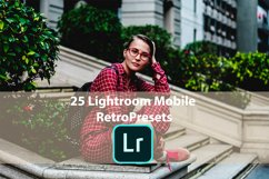 25 Lightroom Mobile Retro Presets Product Image 1