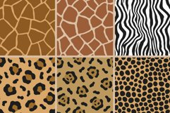 Animal Print Seamless Patterns Product Image 5