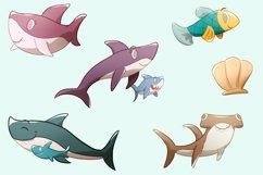 Shark Family Illustrations Product Image 3
