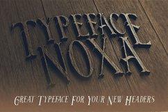 Noxa - Display Font Product Image 4