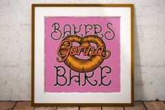 Bakehouse Label Font Product Image 6