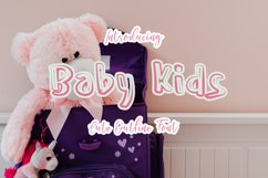 Baby Kids  Display Typeface Font Product Image 1