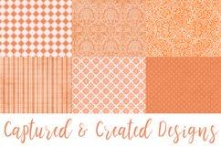 18 Richly Orange Digital Paper Pack Product Image 2
