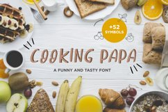 Cooking Papa - handwritten font Product Image 1