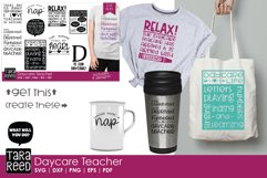 Daycare Teacher - Daycare SVG and Cut Files for Crafters Product Image 2