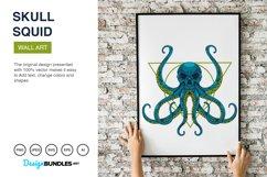 Squid Skull Illustrations Product Image 4