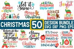 MEGA Christmas Bundle SVG PNG DXF EPS Cricut Cutting Files Product Image 1