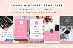 Pinterest Canva Templates - Lady Boss Product Image 3