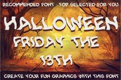 Spooky Smoke - Halloween & Twisted Font Product Image 3