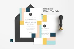 Minimal Abstract Wedding Suite Product Image 2