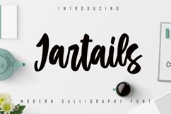 Jartails - Modern Calligraphy Font Product Image 1