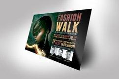 Urban Fashion Flyer Photoshop Template Product Image 2
