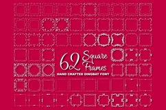 Square Frames Dingbat Font Product Image 2