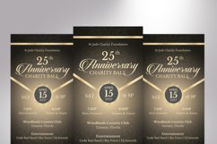 Anniversary Banquet Ticket Bundle Word Publisher Template Product Image 4