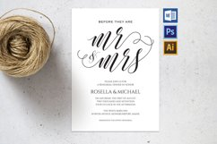 Rehearsal Dinner Invitation, TOS_41 Product Image 1