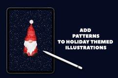 Christmas Sweater Procreate Patterns Product Image 2
