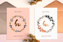 8 Sweet Fall Wedding Monograms X Product Image 4