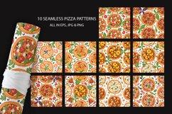 PIZZA seamless patter set Product Image 6