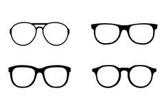 Glasses icons set Product Image 1