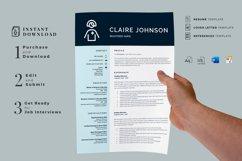 RN Nurse Resume template. Modern Resume format for Nurses Product Image 8