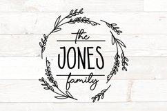 Vol 2 - Family Monogram Sign Bundle Floral Product Image 10