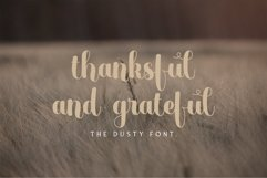 Web Font The Dust Product Image 2