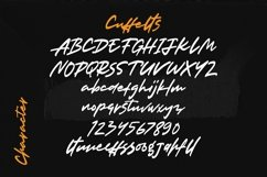 Web Font Cuffelts - Script Display Font Product Image 4