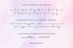 Tiara / modern calligraphy script Product Image 2