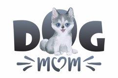 Husky Dog Mom Sublimation Design PNG Product Image 2