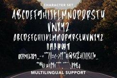 Web Font Roadblock - Handbrushed Font Product Image 3