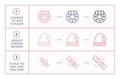 Line Icons - Christmas Product Image 4