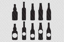 Bottles svg dxf cutting files Product Image 2