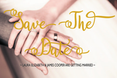 Breathaking script Font Product Image 2