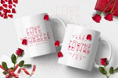 Redlove Font Product Image 5