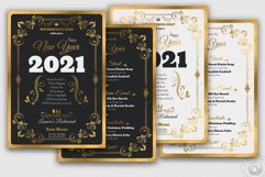 New Year Menu Template Product Image 3