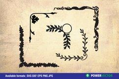 Flowers and Laurel Wreaths SVG Bundle Product Image 4